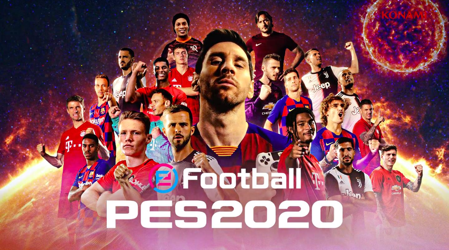 eFootball ウイニングイレブン 2020 / ローンチトレーラー