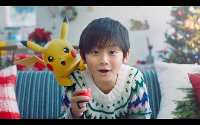 『ポケットモンスター Let's Go! ピカチュウ・Let's Go! イーブイ』 TVCM(クリスマス篇)